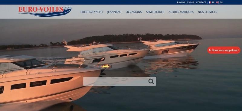 Venez naviguer sur notre nouveau site: euro-voiles.com