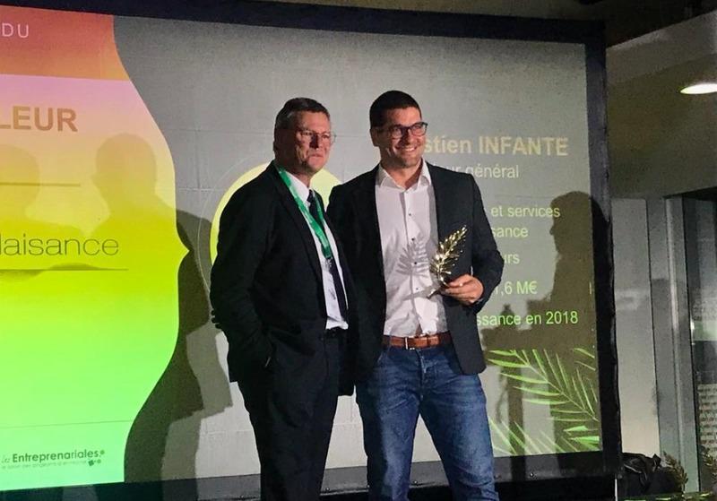 Riviera Plaisance vainqueur du trophée « meilleur espoir » !