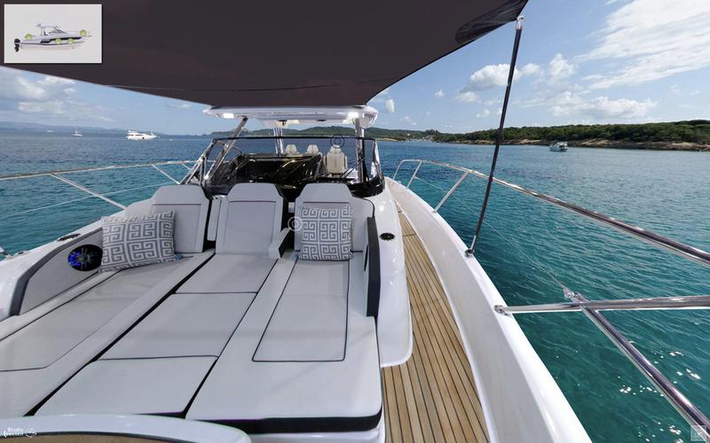 Découvrez les visites virtuelles 360° des bateaux moteurs Jeanneau