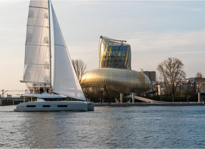 Le tout nouveau Lagoon 55 en images, venez le visiter du 14 au 20 juin à Hyères !