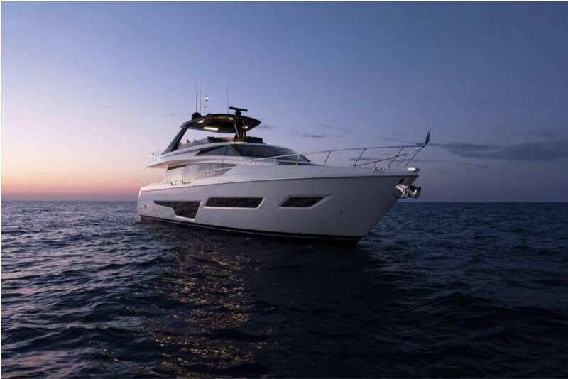Nouveau brokerage : Yacht Ferretti 780 - occasion