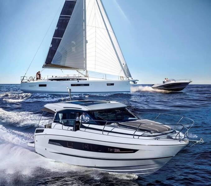Euro-Voiles sera au salon nautique de Barcelone pour vous faire découvrir les nouveautés Jeanneau, Prestige Yachts et Lagoon